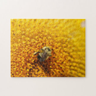 Bee On A Sunflower 10x14 Puzzle