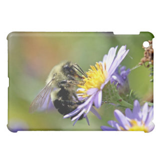 Bee on Aster Flower Photo Case For The iPad Mini