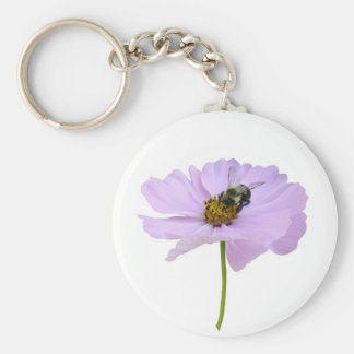 Bee on Blossom Keychain
