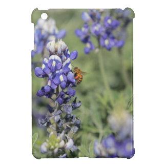 Bee on Bluebonnet iPad Mini Covers