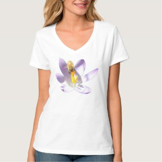 Bee on Crocus T-Shirt