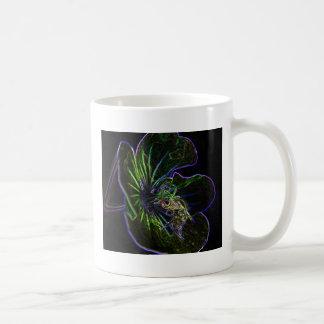 bee_on _flower_art mugs