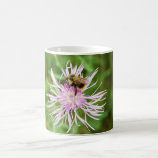Bee on Flower Blossom Coffee Mug