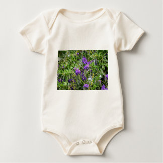 BEE ON FLOWER RURAL QUEENSLAND AUSTRALIA BABY BODYSUIT