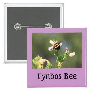 Bee on Fynbos Flower, South Africa Pin