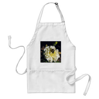 Bee on Ghost Marigold Adult Apron
