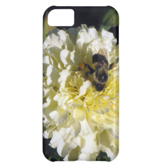 Bee on Ghost Marigold Case For iPhone 5C