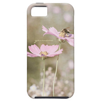 Bee on Pink Flower iPhone SE/5/5s Case