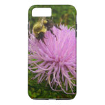 Bee on Thistle Flower iPhone 8 Plus/7 Plus Case