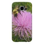 Bee on Thistle Flower Samsung Galaxy S6 Case