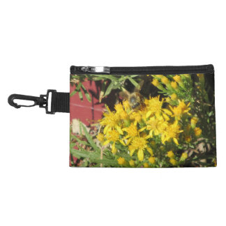 Bee on Yellow Flowers Accessory Bag