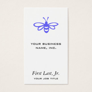 Bee [orchid] business card