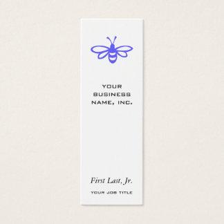Bee [orchid] mini business card