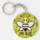 Bee Otch Key chain