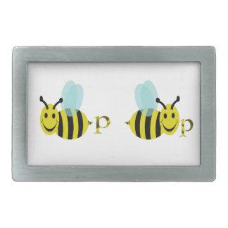 Bee p Bee p Rectangular Belt Buckle