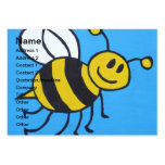 Bee painting business card templates