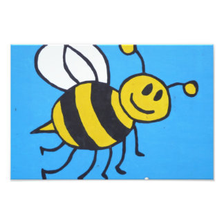 Bee painting art photo