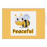 Bee Peaceful Greeting Cards