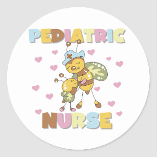 Bee Pediatric Nurse Stickers