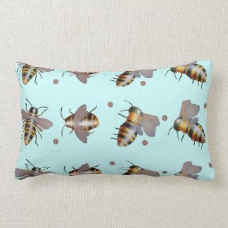 Bee Pillow (Aqua)