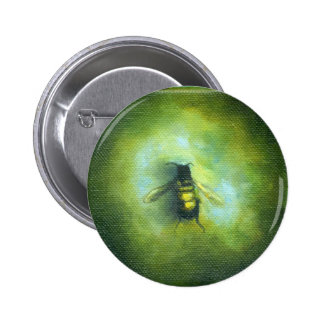 Bee Pinback Button