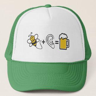 Bee Plus Ear Trucker Hat