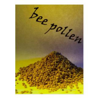 Bee Pollen Postcard