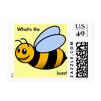 """Bee Postage """"What's the Buzz!"""""""