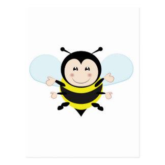 bee postcard