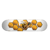 bee reflective skate board