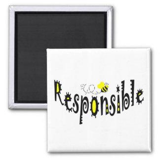 Bee  Responsible magnet