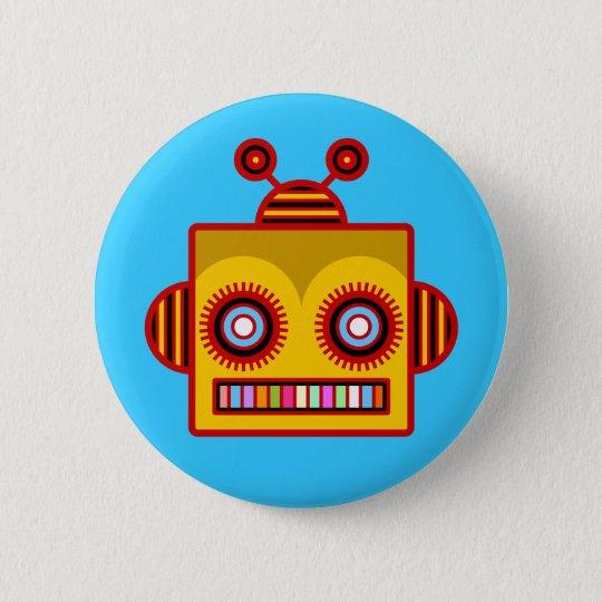 Bee Robot Fun Button