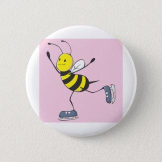 Bee Shirt | Custom Bee Ice Skating Shirt Button