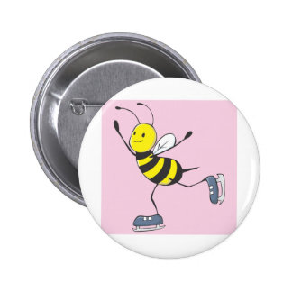 Bee Shirt | Custom Bee Ice Skating Shirt Button