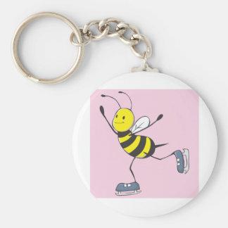 Bee Shirt | Custom Bee Ice Skating Shirt Keychains