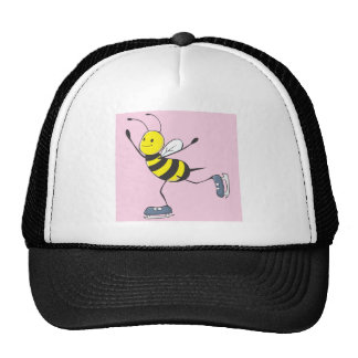 Bee Shirt | Custom Bee Ice Skating Shirt Trucker Hat