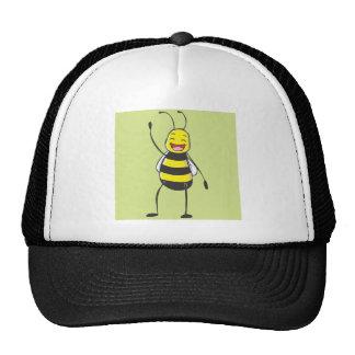 Bee Shirt | Custom Bee Saying Hello Hi Trucker Hat