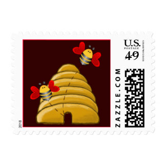 BEE SKEP by SHARON SHARPE Postage