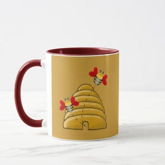 BEE SKEP & RAYS by SHARON SHARPE Mug
