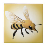 Bee Small Square Tile