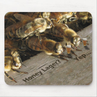 Bee Small Talk 2 Mouse Pad