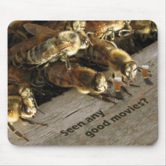 Bee Small-Talk Mouse Pad