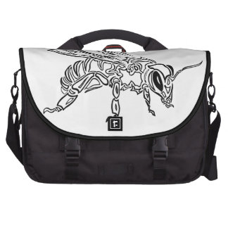 Bee Spirit ver1- Surreal tribal bee totem animal Bag For Laptop