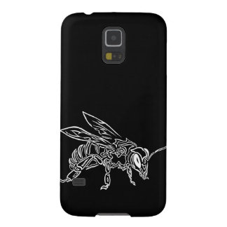 """""""Bee Spirit"""" ver2- Surreal tribal bee totem animal Galaxy S5 Cases"""
