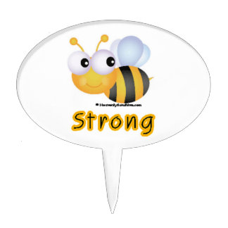 BEE Strong Cake Topper