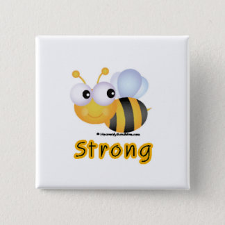 BEE Strong Pinback Button