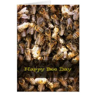 Bee Swarm Greeting Card