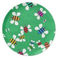 Bee Swarm Plates