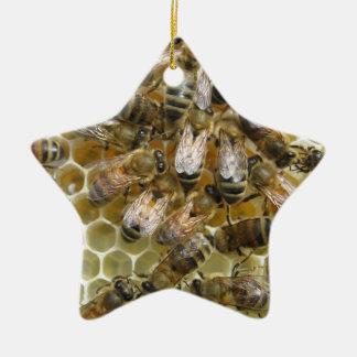 Bee Sweet Ceramic Ornament
