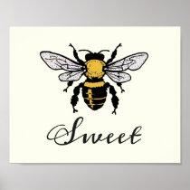 Bee Sweet Poster